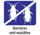 Barrières anti-nuisibles